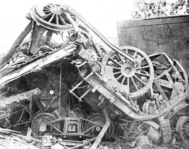 Great Train Wreck of 1918 Nashville TN Train Wreck Jul 1918 Smash at Nashville