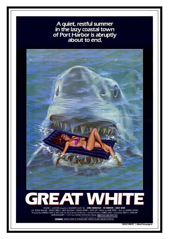 Great White (film) Great White 1981 HORRORPEDIA