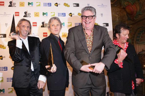 Greedy Smith Greedy Smith and Reg Mombassa Photos 2009 ARIA Hall of