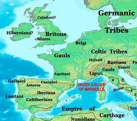 Greeks in pre-Roman Gaul