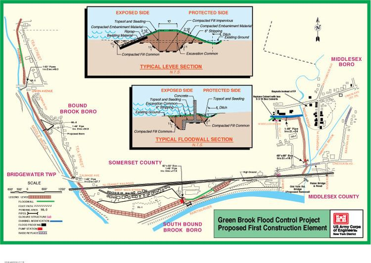 Green Brook Flood Control Project