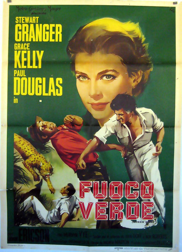 Green Fire FUOCO VERDE MOVIE POSTER GREEN FIRE MOVIE POSTER