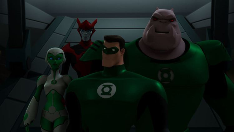 Green Lantern: The Animated Series Saturday Morning Cartoons Green Lantern The Animated Series The