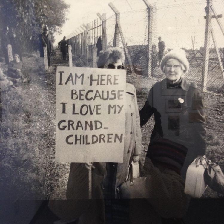 Greenham Common Women's Peace Camp Interference Archive in Brooklyn Greenham Common Women39s Peace Camp