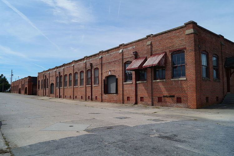 Greenville Tobacco Warehouse Historic District