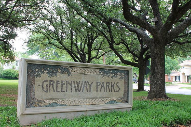 Greenway Parks Historic District
