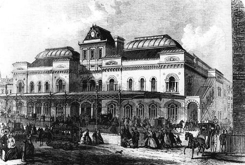 Greenwich Park railway station