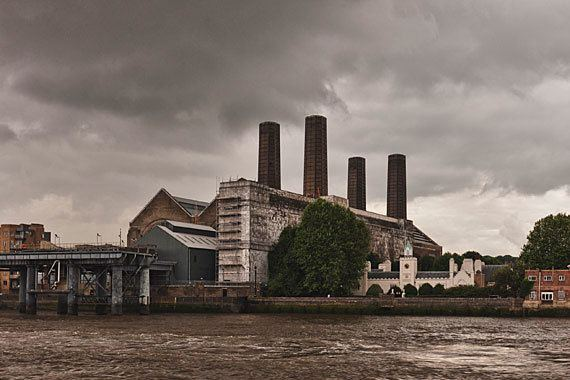 Greenwich Power Station Photograph of Greenwich Power Station 1 London Photos
