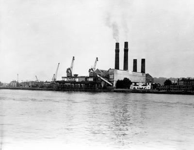 Greenwich Power Station Powering the City The working Thames Port Cities
