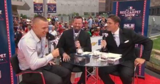 Greg Amsinger MLB Network39s Greg Amsinger nailed Derek JeterMike Trout