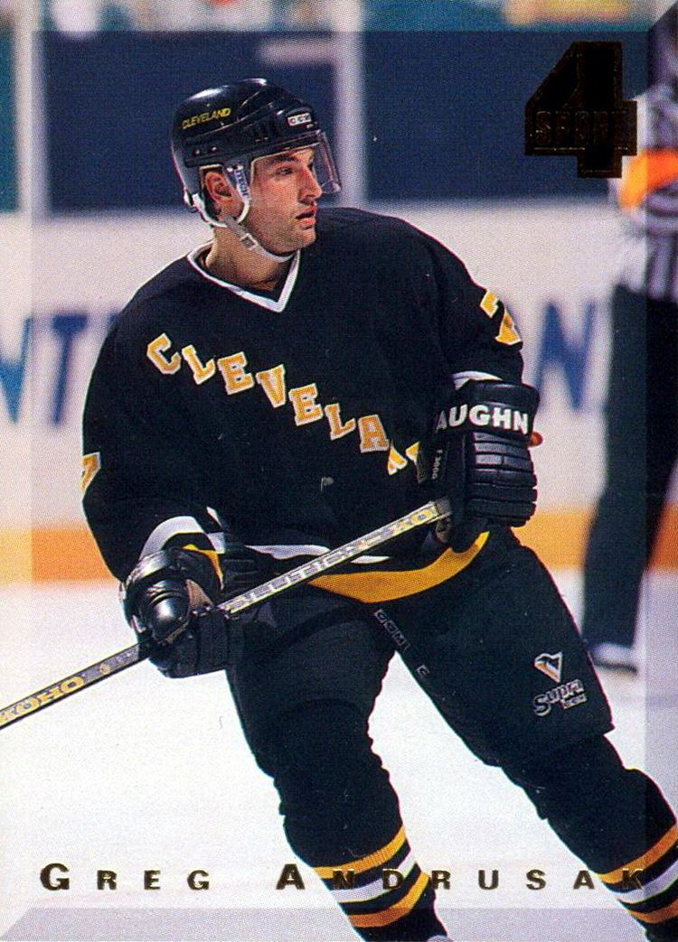 Greg Andrusak Greg Andrusak Players cards since 1993 1995 penguinshockey