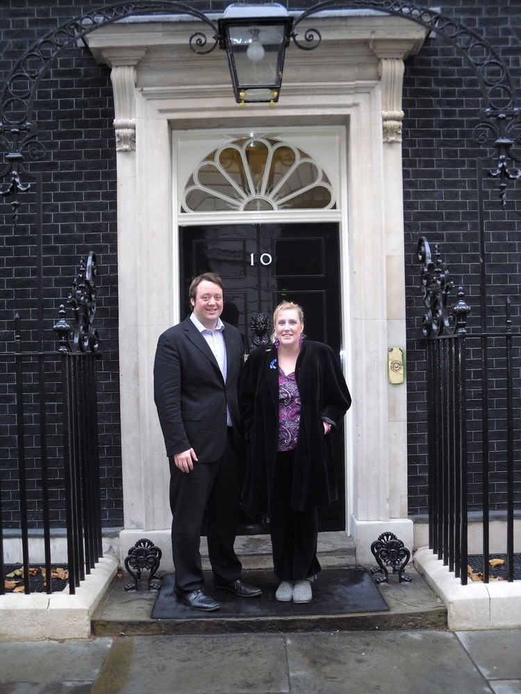Greg Beales Claudette Lawrence with Greg Beales Oxleas NHS Foundation Trust