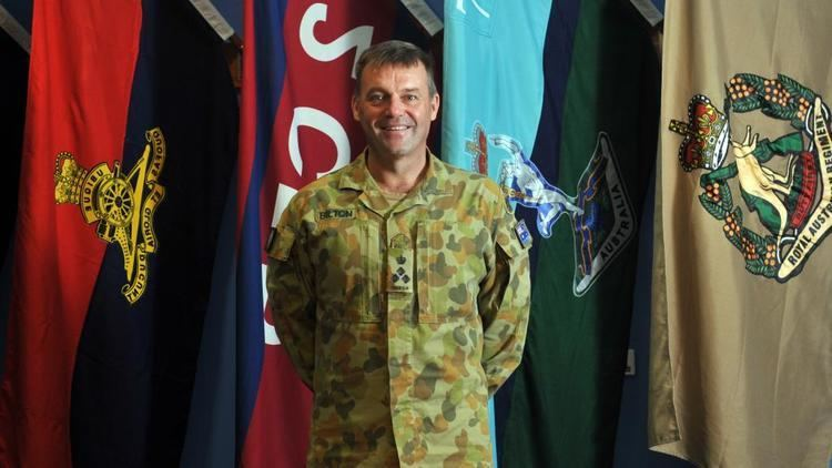 Greg Bilton Brigadier Greg Bilton to take up duties in Hawaii with US military