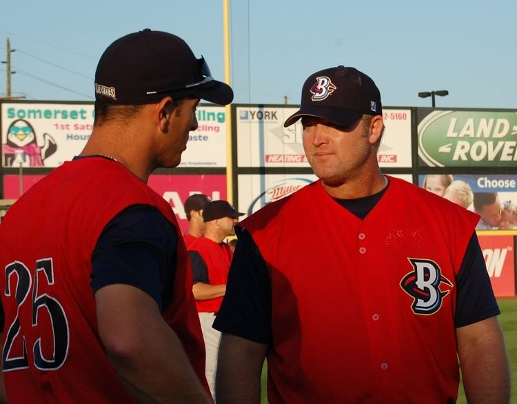 Greg Blosser Blosser returns as a visitor Somerset Patriots Pulse