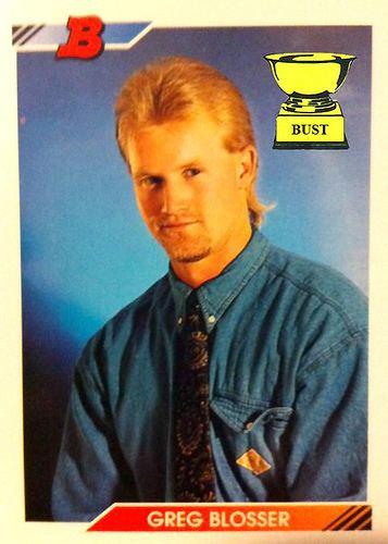 Greg Blosser Greg Blosser 1992 Bowman Sports
