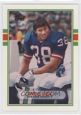 Greg Cox (American football) 1989 Topps Traded Base 18T Greg Cox COMC Card Marketplace