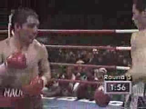 Greg Haugen Julio Cesar Chavez VS Greg Haugen Round 5 YouTube