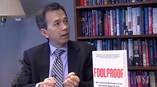 Greg Ip Video Wall Street Journal interview with Greg Ip about his new book