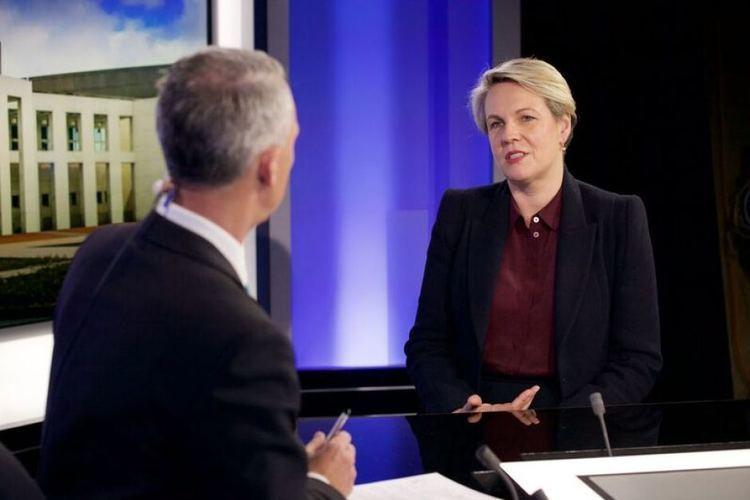 Greg Jennett Tanya Plibersek is interviewed by Greg Jennett ABC News