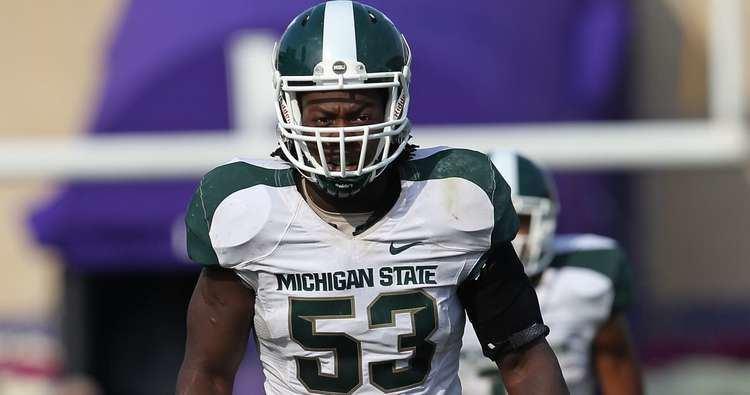 Greg Jones (linebacker, born 1988) Former Michigan State LB Greg Jones Coach D knows how to correct a