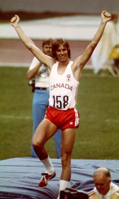 Greg Joy Montreal Olympics Canadian high jumper Greg Joy missed gold by two