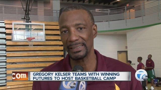 Greg Kelser Kelser kicks off basketball camp schedule WXYZcom