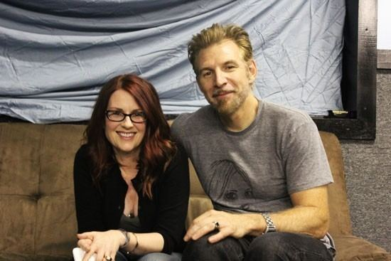 Greg Kuehn Megan Mullally on Being in a Band With Greg Kuehn 39People Think