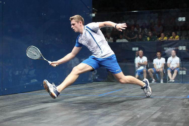 Greg Lobban Lobban Takes Indian Summer Title Scottish Squash and Racketball