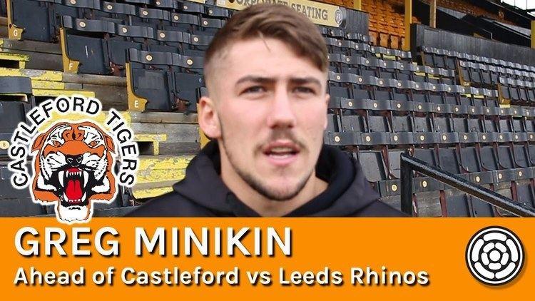 Greg Minikin Tigers Greg Minikin ahead of facing Leeds Rhinos YouTube