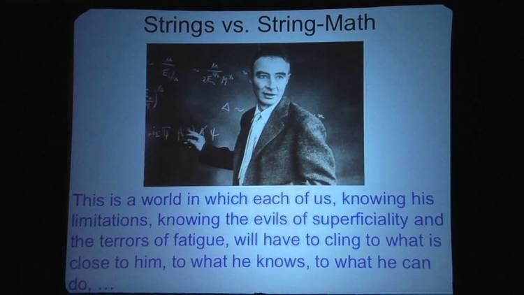 Greg Moore (physicist) Greg Moore Physical Mathematics and the Future YouTube