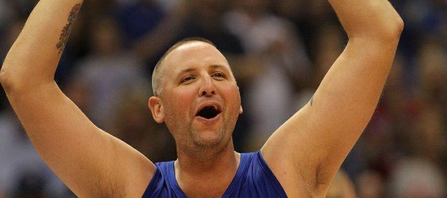 Greg Ostertag Ostertag OK with Withey breaking his KU blocks record