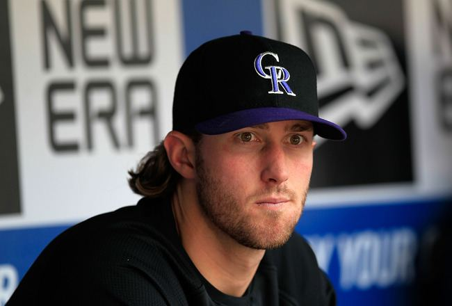 Greg Reynolds Colo Rockies Trade Pacifica Pitcher Greg Reynolds to