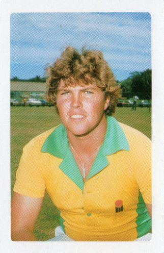 AUSTRALIA Greg Ritchie 1982 83 The Benson Hedges World Series