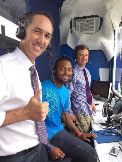 Greg Sharko Greg Sharko on Twitter DonaldYoung visited ESPN Tennis booth