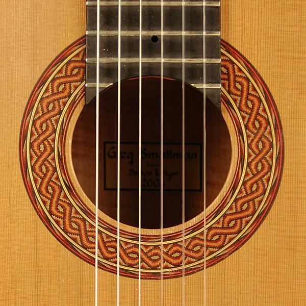 Greg Smallman Classical Guitars 2006 Greg Smallman CDCSAR Guitar