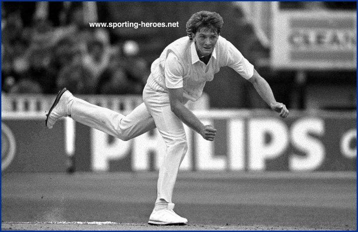 Greg Thomas Test Profile 1986 England