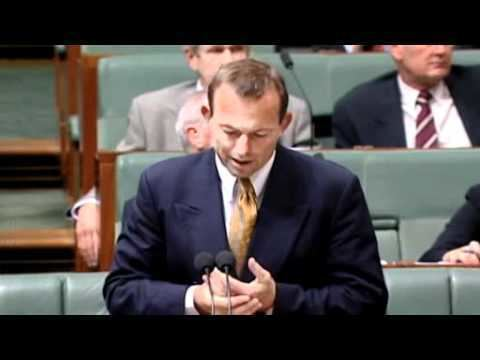 Greg Wilton Tony Abbott speaks in Greg Wilton condolence debate YouTube