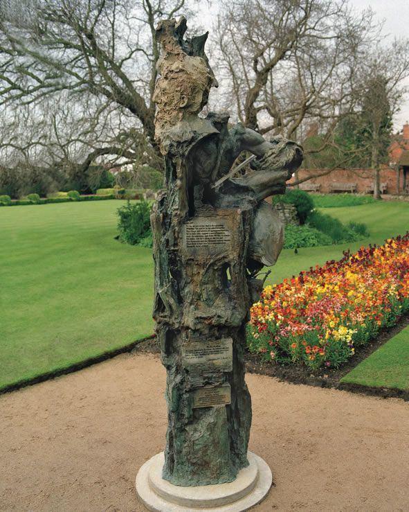 Greg Wyatt Great Garden Sculpture Trail American Friends of the Shakespeare