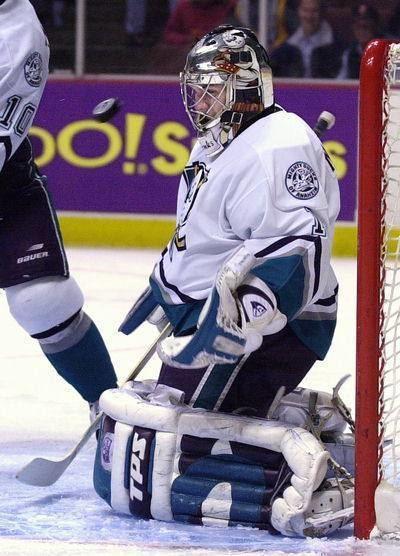 Gregg Naumenko Anaheim Mighty Ducks goaltending history Gregg Naumenko