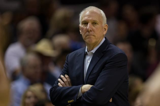 Gregg Popovich San Antonio Spurs coach Gregg Popovich tapped to handle West All