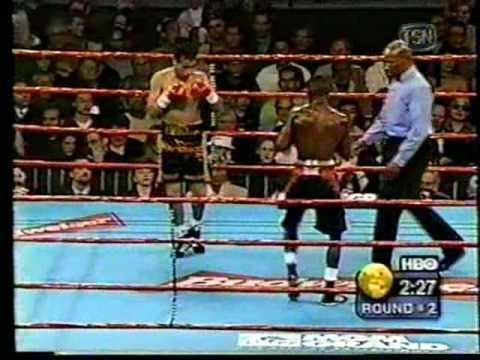 Gregorio Vargas Floyd mayweather vs Gregorio Vargas part 1 YouTube