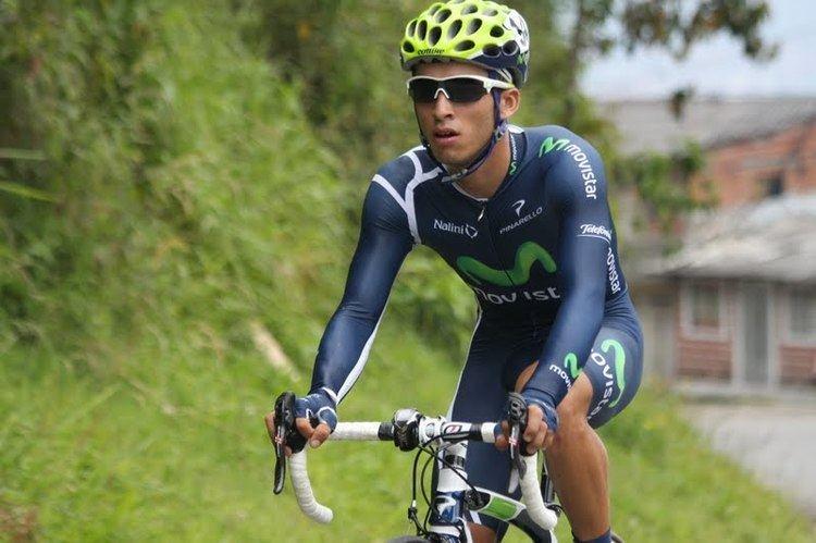 Gregory Brenes Costarricense del Movistar Gregory Brenes gana quinta etapa de la