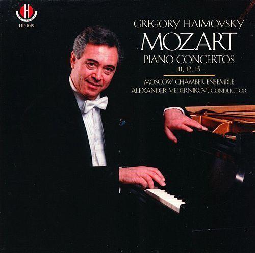 Gregory Haimovsky Mozart Piano Concertos Nos 11 12 13 Gregory Haimovsky Songs