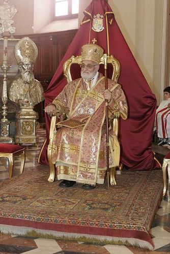 Gregory III Laham his Beatitude Gregory III Laham the Melkite Greek