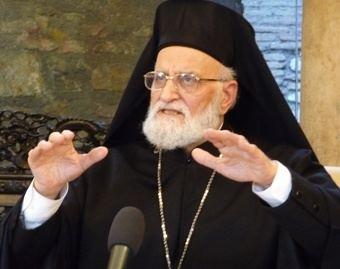 Gregory III Laham SYRIA Appeal by Gregory III for a global campaign of