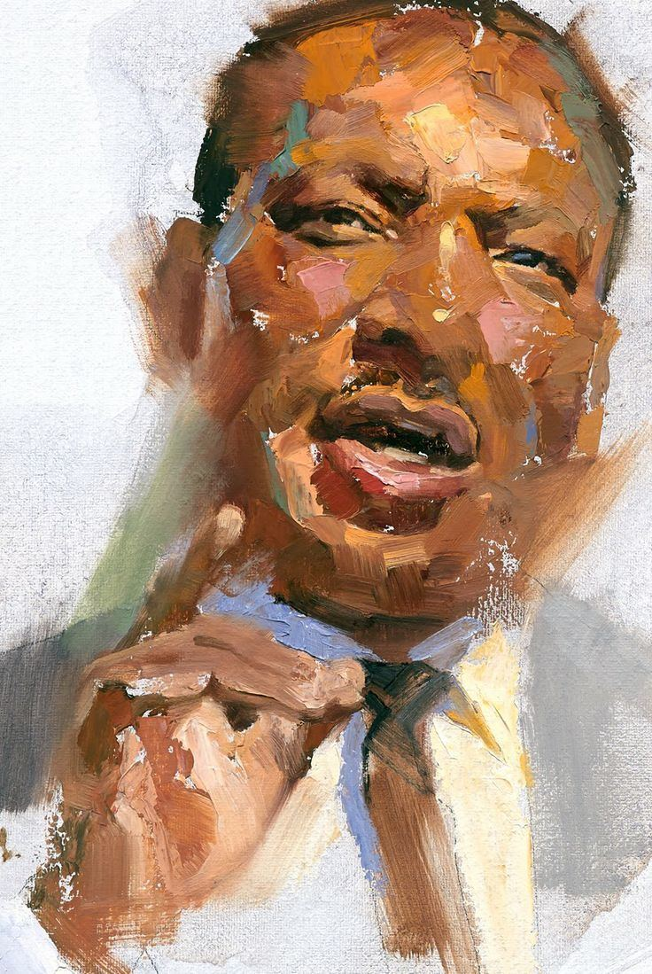Gregory Manchess Greg Manchess Martin Luther King Jr Portraits