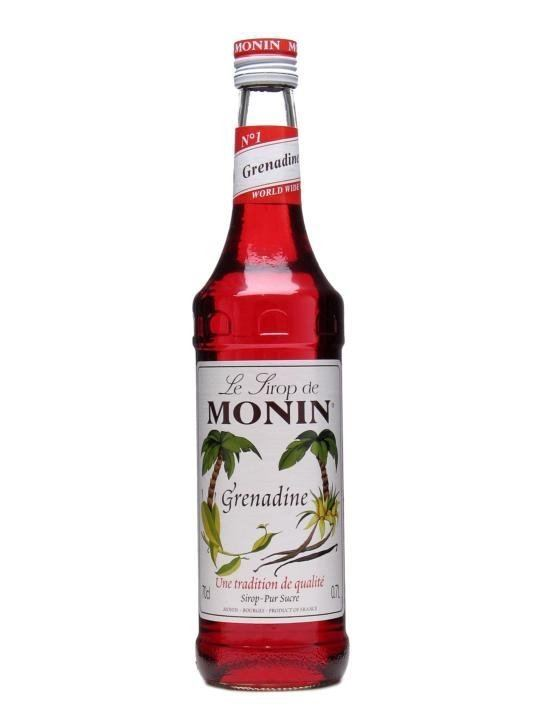 Grenadine Monin Grenadine Syrup The Whisky Exchange