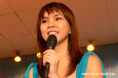 Gretchen Espina Thousands Biliranons welcomes Pinoy Idols Gretchen Biliran Blogs