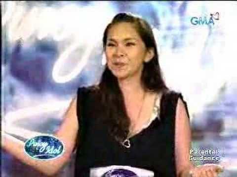 Gretchen Espina Gretchen Espina audition Pinoy Idol YouTube