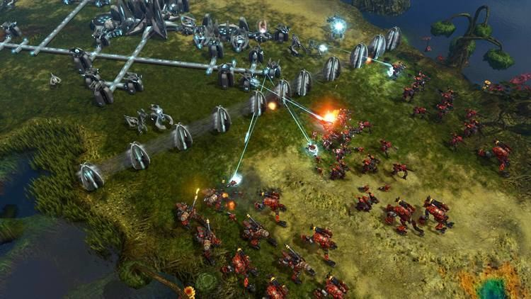 Grey Goo (video game) Hardcore Strategy is Coming Back Grey Goo Review New Gamer Nation